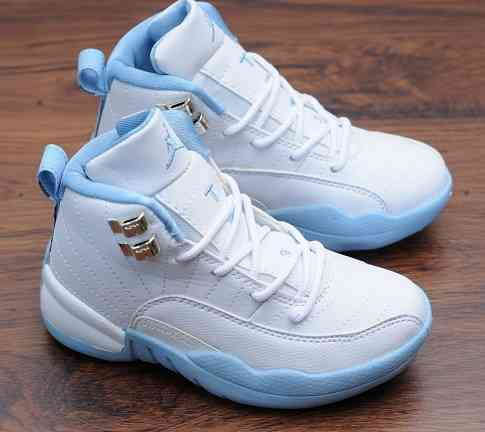 Kids Nike Air Jordans 12 Shoes-3