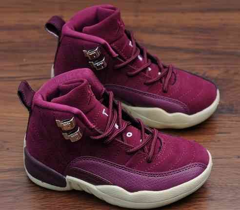 Kids Nike Air Jordans 12 Shoes-6