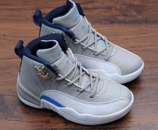Kids Nike Air Jordans 12 Shoes-2