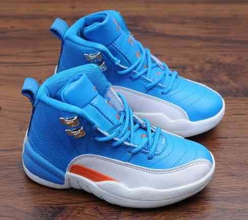 Kids Nike Air Jordans 12 Shoes-5