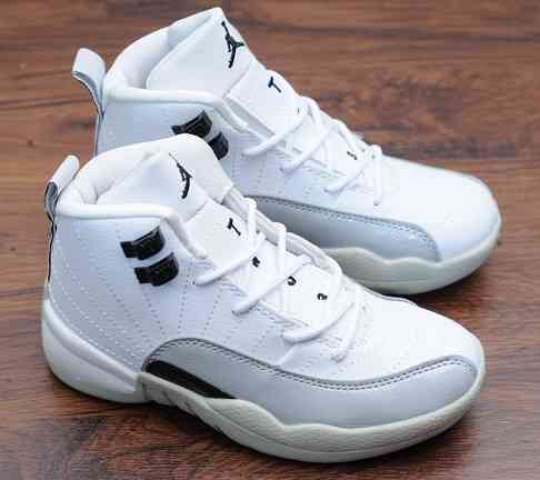Kids Nike Air Jordans 12 Shoes-7