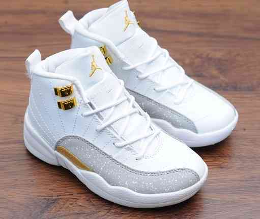Kids Nike Air Jordans 12 Shoes-13