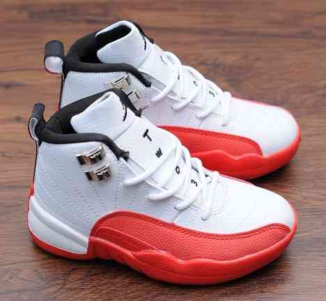 Kids Nike Air Jordans 12 Shoes-16