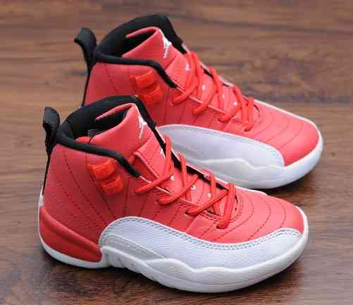 Kids Nike Air Jordans 12 Shoes-12