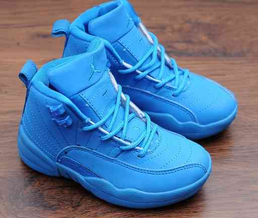 Kids Nike Air Jordans 12 Shoes-14